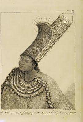 Portrait d'un Heiva, sorte de prêtre (1773)