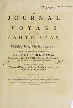 A journal of a voyage to the South Seas, in His Majesty's ship, the Endeavour (1773)