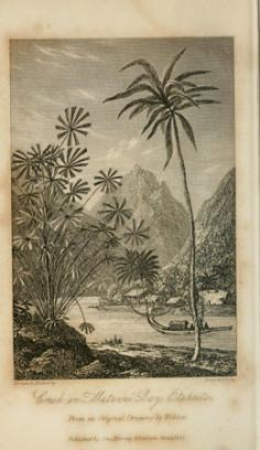 Creek in Matavai Bay, Otaheite (1831)