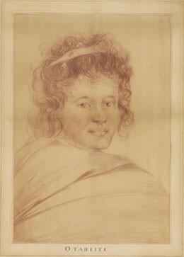 Portrait de Tynai-Mai, princesse de Raiatea (1773)