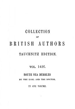 South sea bubbles (1874)