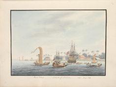 Pointe Vénus à Tahiti (1792)