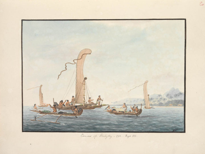 Pirogues de Tahiti (1792)