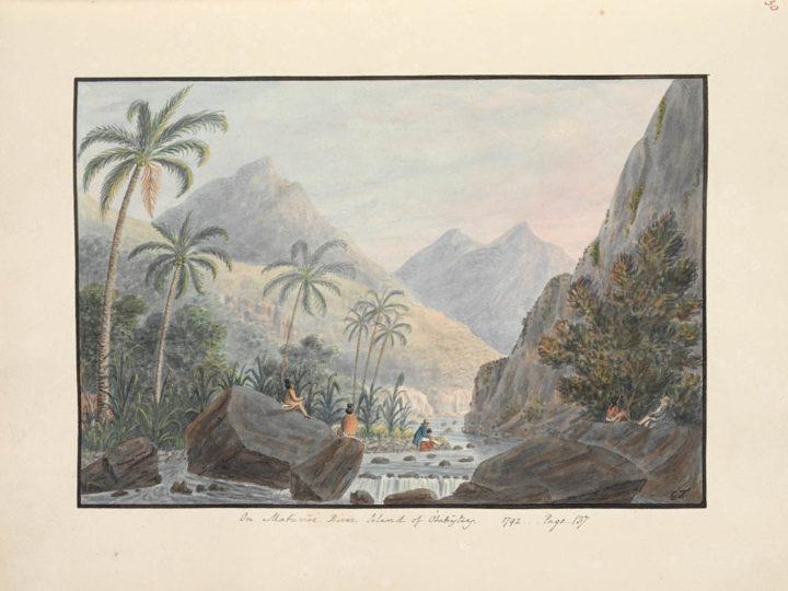 On Matavai river (1792)