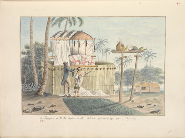 A Toopapow, with the Corpse on it (1792)