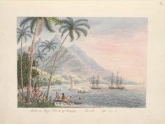 Coucher de soleil sur la baie de Matavai (1792)