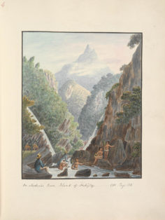 Dans la rivière Tuauru (1792)
