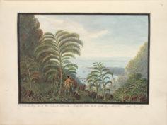 Baie de Matavai et de l'atoll de Tetiaroa (1792)