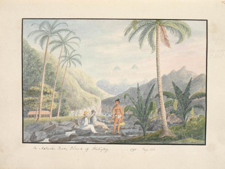 On Matavai River – Island of Otahytey (1792)