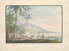 Near the watering place, Matavai (1792)