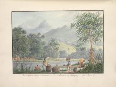 The watering place Matavai ( 1792 )