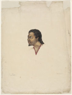 Poitee. Chief of Huaheine (1802)