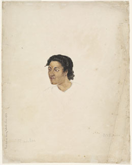 Ti.po.taa, frère de Otoo (1802)