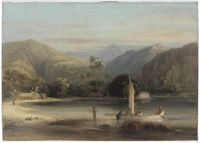 Ile de Moorea – Eimeo, 1840
