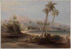 Port de Papeete, 1841