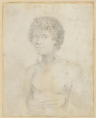 Native girl of Tahiti (1777)