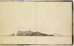 Profil de la côte de Mohotane (1837-1840)