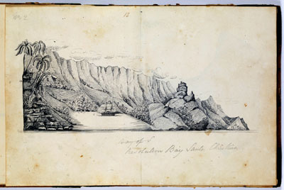 Resolution Bay – Santa Christina (1837-1840)