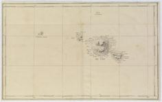 Carte de l'île de Tahiti (1837-1840)