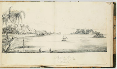 Baie de Papeete (1837-1840)