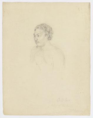 O.tei.hea, king of Huihiai (1802)