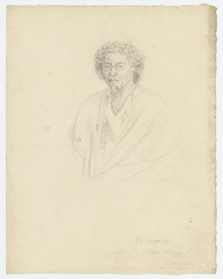 Po.mar.re, father to Ottoo, king of Otaheiti (1802)