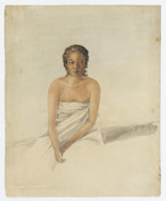 Hari.ri.did.oai, chief woman of Otahaiti (1802)