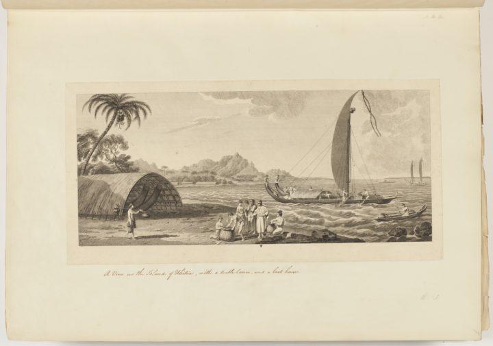 Vue de Raiatea (1773)