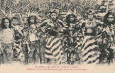 Huahine – Boire du vin d'oranges (1895)