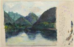 Entrée de la vallée de Tautira (1891)