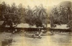 Chargement d'oranges à bord d'un navire (1887)
