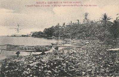 A marée basse à Uturoa (1895)