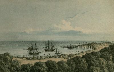 Port de Papeete (1851)
