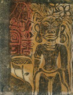 Idole tahitienne – The Godess Hina (1894)