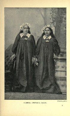 Deux Tahitiennes en robe noire de deuil (1906)