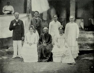 Famille royale de Nuku Hiva (1910)