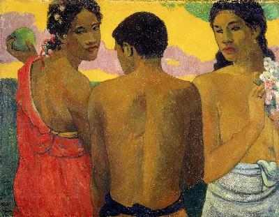 Trois Tahitiens (1899)