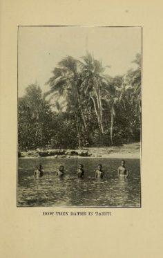 Enfant se baignant dans le lagon (1921)