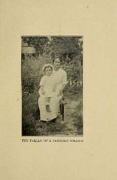 Famille d'un soldat tahitien (1921)