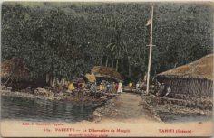 Le débarcadère de Maupiti