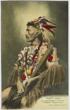 Le grand danseur Atuanui