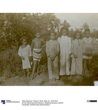 Enfants de Papara (1896)