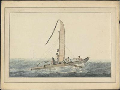Pirogue de Tahiti (1777)