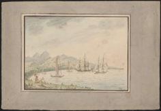 Baie de Matavai près de Port Providence (1792)