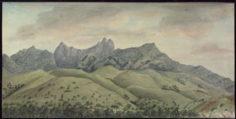 Montagnes face à la baie de Matavai (1792)