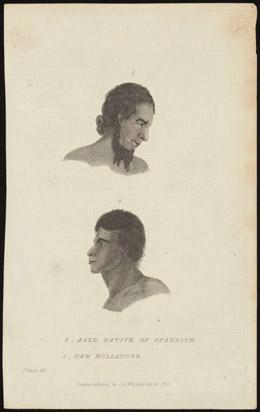 Natif âgé de Tahiti (1802)