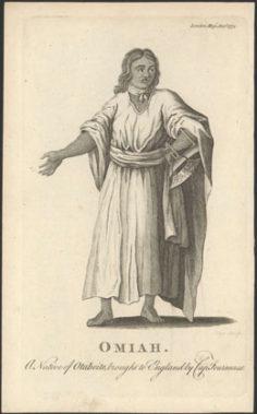 Omiah, a native of Otaheite (1774)