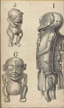 Statuettes en bois (1830)
