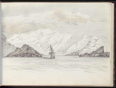 Entrée de Nuku Hiva (1845)