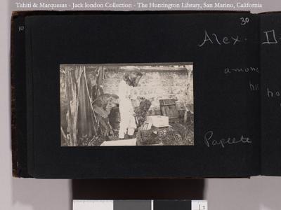 Alex Drollet apiculteur (1908)